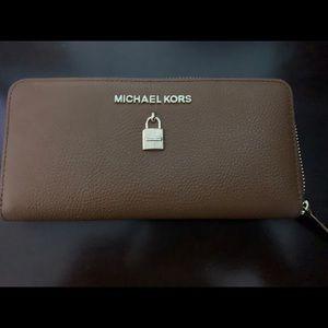 MK Brown Wallet
